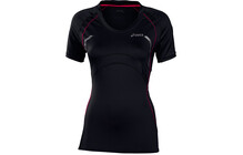 Asics Women&#039;s SS Scoop Neck Tee performance black/diva pink